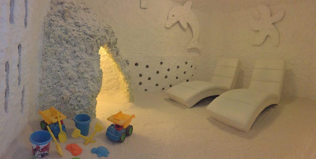 solna soba z morskim motivom